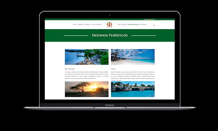 Eduardo Kafie Sitio web del Consulado Honorario de Jamaica - Lugares Turísticos