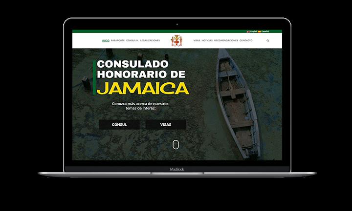 Eduardo Kafie Sitio web del Consulado Honorario de Jamaica - Inicio