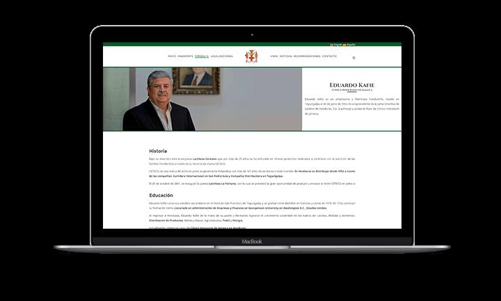 Eduardo Kafie Sitio web del Consulado Honorario de Jamaica - Perfil